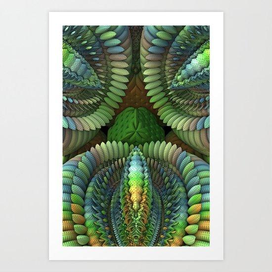 Venus Art Trap Art Print