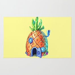 Spongebob House Rug