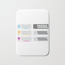 November Cyber Monday Keyboard Bath Mat