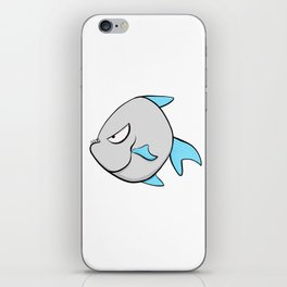 Scribble2Masterpiece - PIRANHA FISH! iPhone Skin