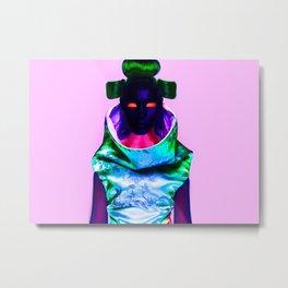 CyberGeisha X Metal Print