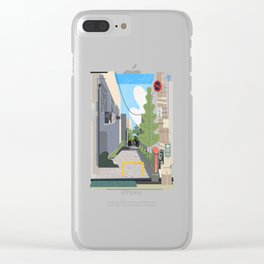 Japan Still Life 003   路地 Clear iPhone Case