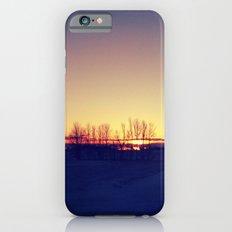 Winter Sets iPhone 6s Slim Case