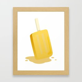 Ice_Pop Framed Art Print