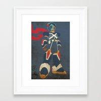 megaman Framed Art Prints featuring Megaman X by JHTY