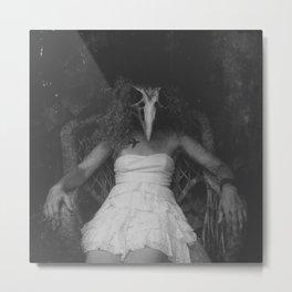 Dead Bird in a Mitten Metal Print