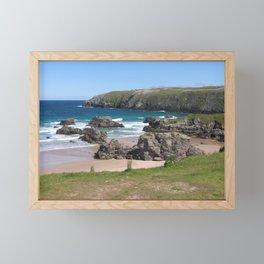Beautiful Sango Bay, Durness, Scotland Framed Mini Art Print
