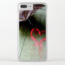 Love Is Love And Not Fade Away Clear iPhone Case