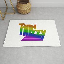 Thin Lizzy Tshirt Graphic T-Shirt Rug