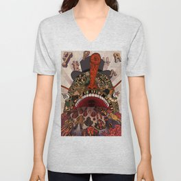 swallow frogs Unisex V-Neck
