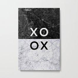 XO B&W Metal Print
