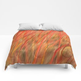 Red abstract Comforters