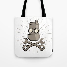 Jolly Robot 01 Tote Bag