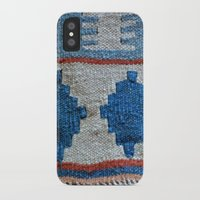 kilim iPhone & iPod Cases featuring afghani kilim by sara gering
