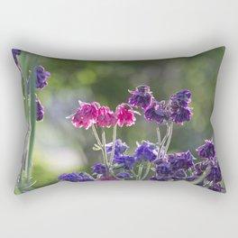 Columbine in Morning Light Rectangular Pillow