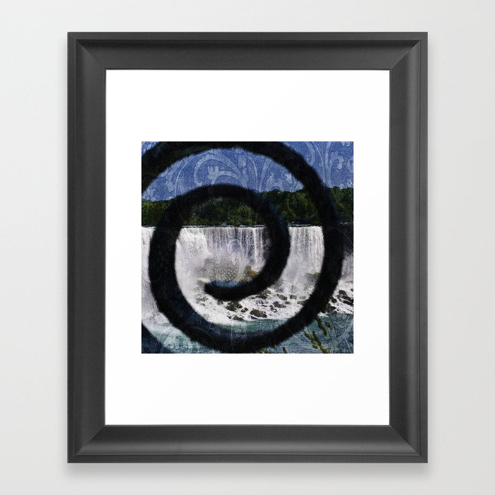 Peaking Thru Framed Art Print