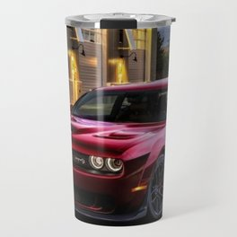 Candy Apple Challenger SRT Demon Hellcat Travel Mug