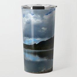 Sprague Lake Cloud Reflection Travel Mug