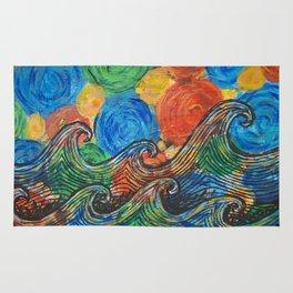 Waves in my Dreams Rug