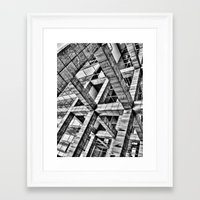 frames Framed Art Prints featuring Frames by Mark Alder