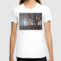 forrest T-shirts featuring Dark Forrest by Annette Jimerson