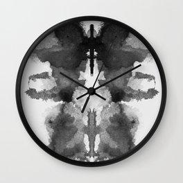 Form Ink Blot No. 14 Wall Clock