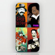 Pop mix of the some of the greats pop culture memories.  iPhone & iPod Skin