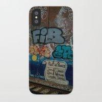 grafitti iPhone & iPod Cases featuring Grafitti Art by Lisa De Rosa-Essence of Life Photography