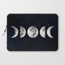 Phases of the Moon Galaxy Laptop Sleeve