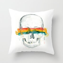 The Anonymity of Existence Throw Pillow