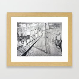 This Really Isn't About Shit Framed Art Print