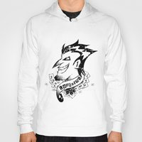 fear and loathing Hoodies featuring JOKER - LOATHING IN GOTHAM by Spectronium - Art by Pat McWain