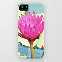 The Water Lily iPhone Case