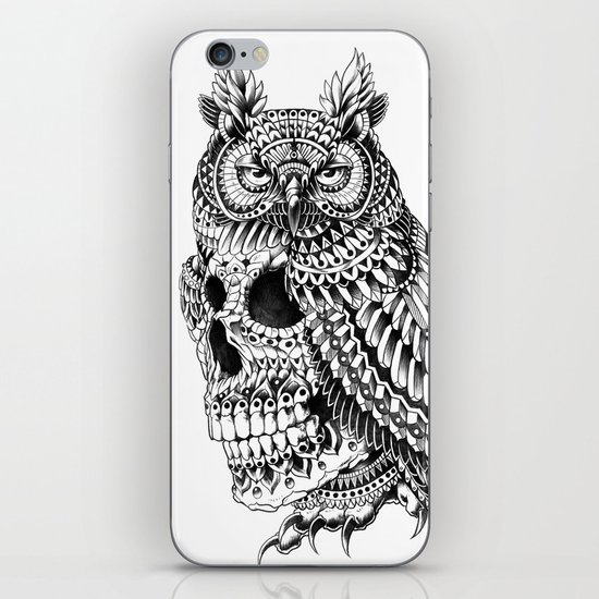Great Horned Skull iPhone & iPod Skin