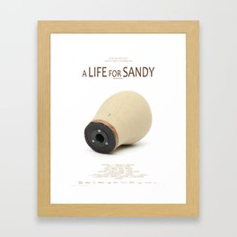 A LIFE FOR SANDY. Sequence I Framed Art Print