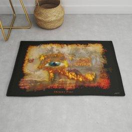 Desert Fire - Eye of Horus Rug