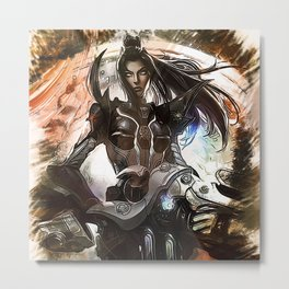 League of Legends PULSEFIRE CAITLYN Metal Print