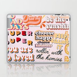 Orange Mood Laptop & iPad Skin