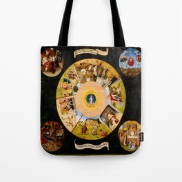 The Seven Deadly Sins and The Four Last Things Tote Bag