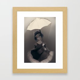 Always under your Shadows Framed Art Print
