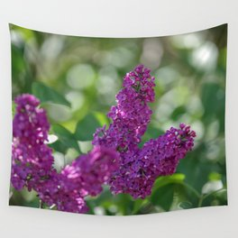 Lilac scent in the spring Wall Tapestry