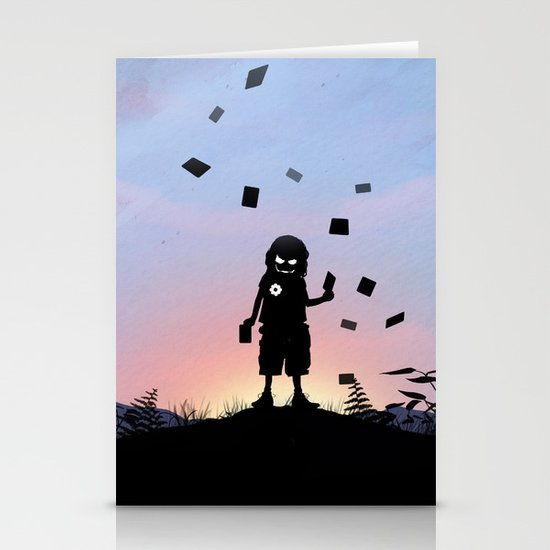 Joker Kid Stationery Cards