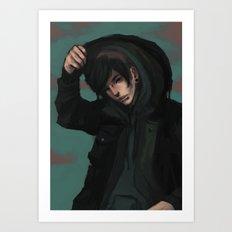 Ion Art Print