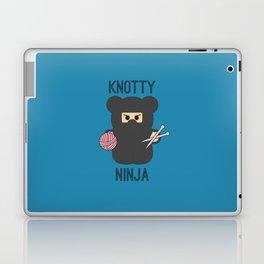 Knotty Knitting Ninja Laptop & iPad Skin