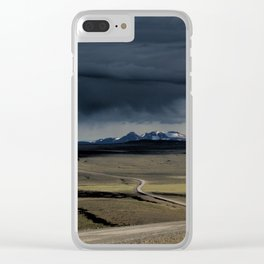 enter the highlands Clear iPhone Case