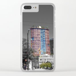 Victory Park Clear iPhone Case