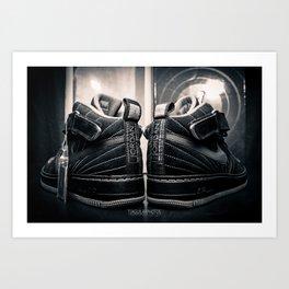 AJF12 B&W Art Print