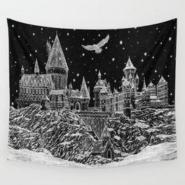 Holiday at Hogwart Wall Tapestry