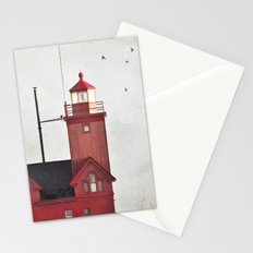 Light to a lost sailor Stationery Cards