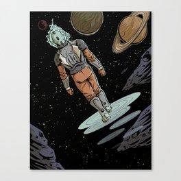 Space Walker Canvas Print